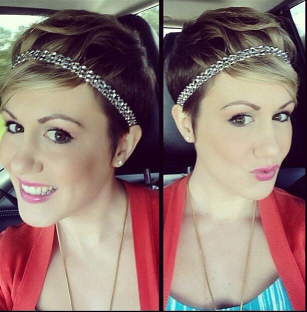 headband cheveux courts